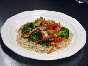 chicken veg ric