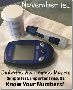Diabetes Awareness Month 2015