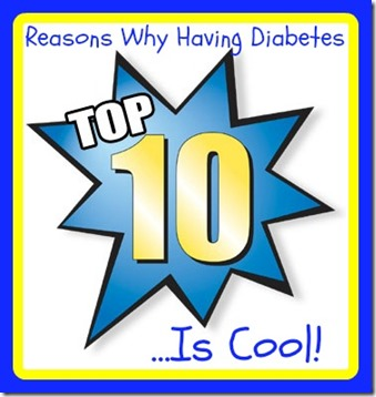 Diabetes Top 10 sign