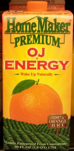 HomeMakerPremium OJ+Caffeine Front