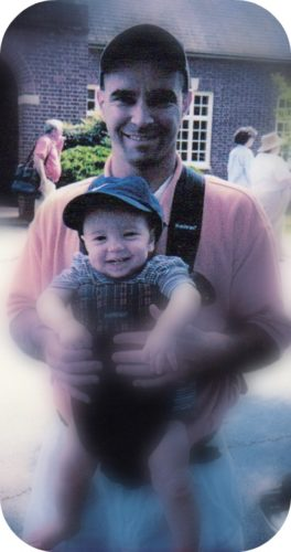 Daddy with Jonathan 2001-First UVA Game Edited