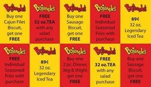 bojangles coupon fundraiser